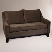 Easy Walnut Baldwin Loveseat