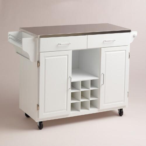 Hanna Kitchen Storage Cart