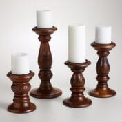 Satara Pillar Candle Holders