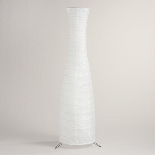 Curves Paper Floor Lamp