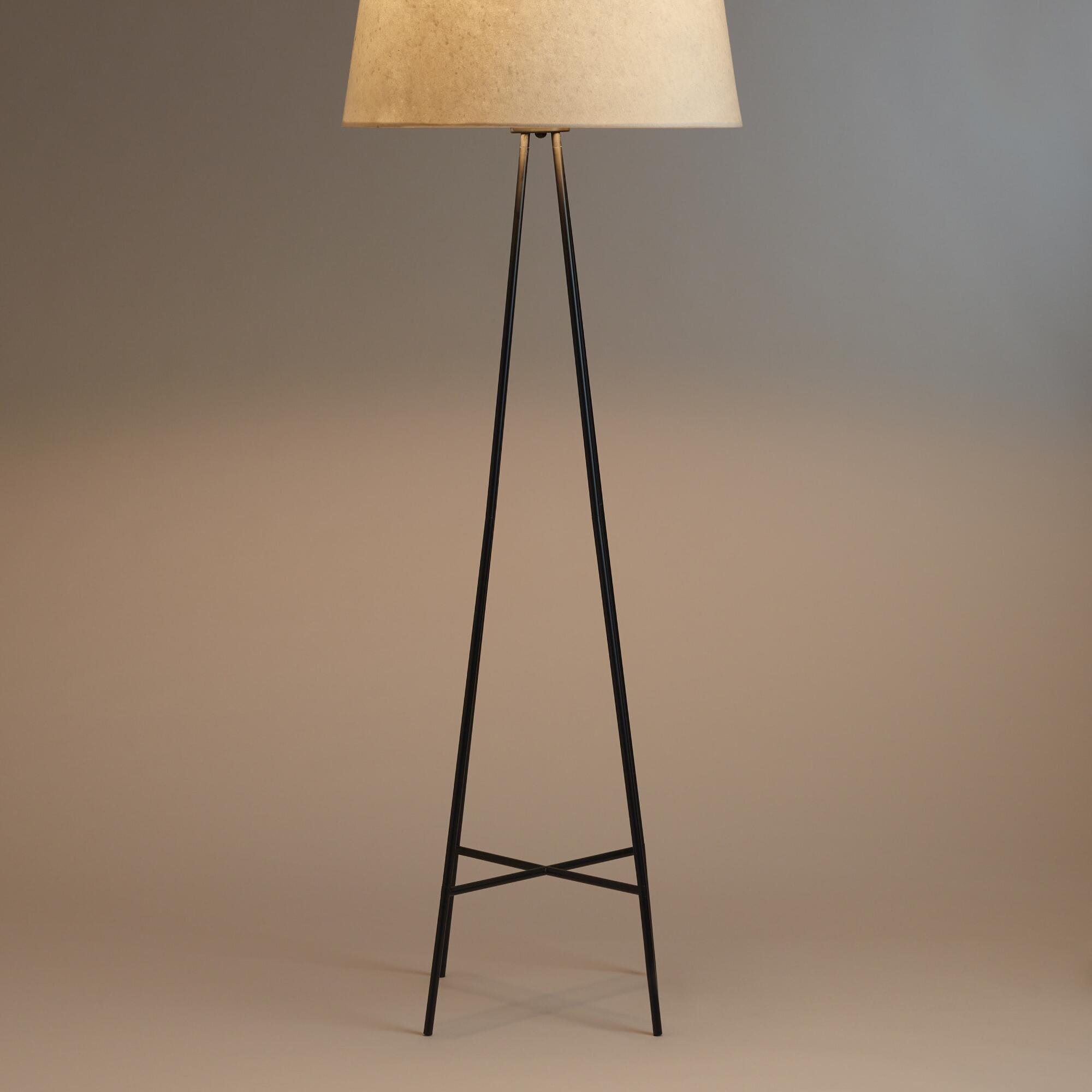 tristan floor lamp stand world market With tristan floor lamp stand