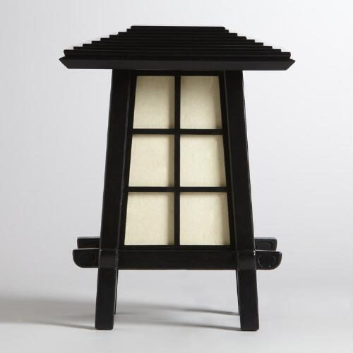 Asian Pagoda Table Lamp