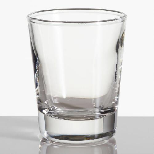 Glass Shot Glasses, Set of 2