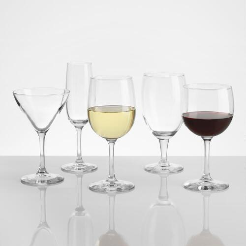 Madison Glassware Collection
