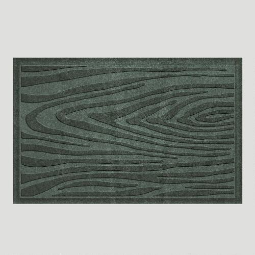 Evergreen Wood Grain WaterGuard Doormat