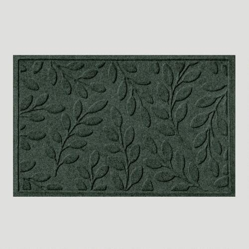 Evergreen Leaf WaterGuard Doormat