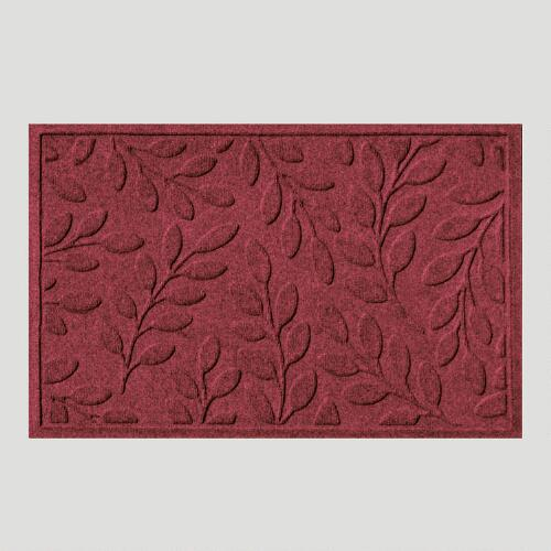 Bordeaux Leaf WaterGuard Doormat