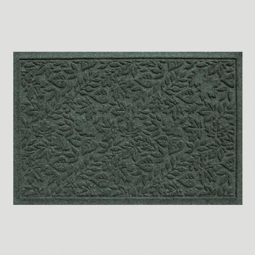 Evergreen Fall Leaves WaterGuard Doormat