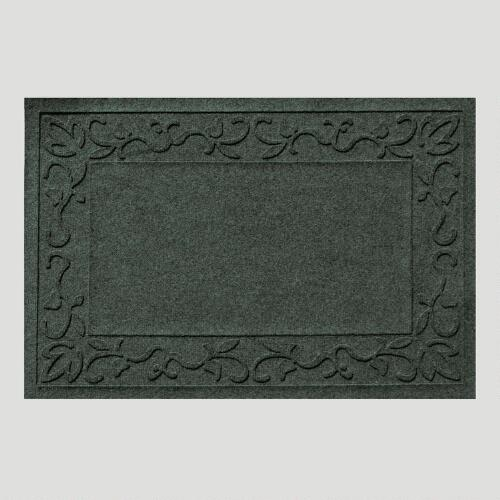 Evergreen Vine Border WaterGuard Doormat