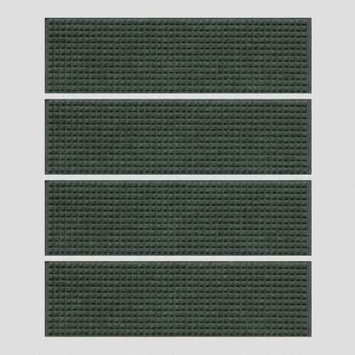 Evergreen Squares WaterGuard Stair Treads, Set of 4