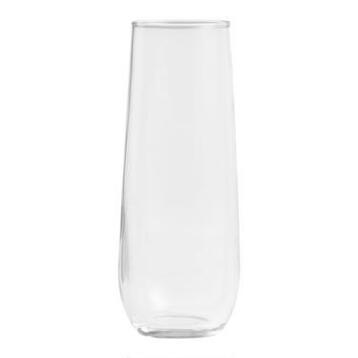 Stemless Champagne Flutes Set of 4