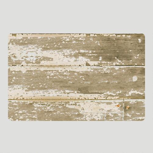 Barn Board Cushioned Floor Mat