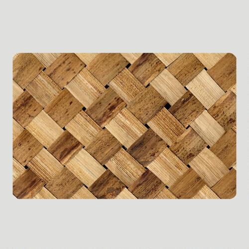 Basket Cushioned Floor Mat