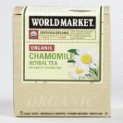 World Market® Organic Chamomile Tea, 15-Count