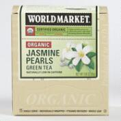 World Market® Organic Jasmine Pearls Green Tea, 15-Count