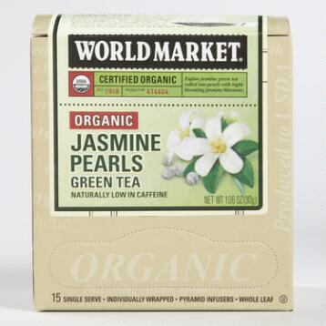 World Market® Organic Jasmine Pearls Green Tea, Set of 6