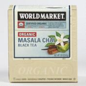 World Market® Organic Masala Chai Black Tea, 15-Count