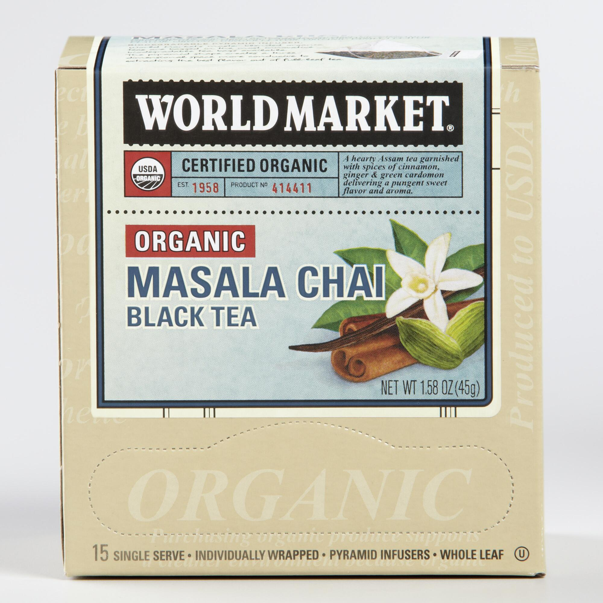 World Market® Organic Masala Chai Black Tea, Set of 6 | World Market