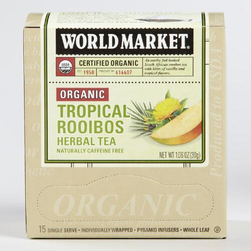 World Market® Organic Tropical Rooibos Tea, Set of 6