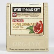 World Market® Organic Pomegranate White Tea, 15-Count