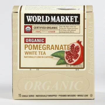 World Market® Organic Pomegranate White Tea, Set of 6