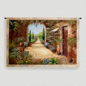 Secret Garden I Tapestry Wall Hanging