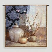 Asian Still Tapestry Wall Hanging