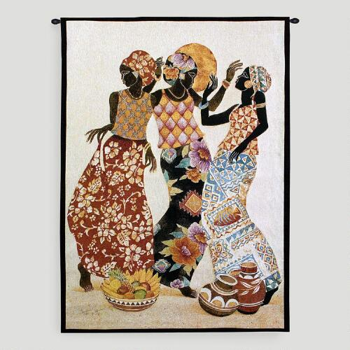 Jubilation Tapestry Wall Hanging