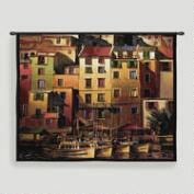Mediterranean Gold Tapestry Wall Hanging