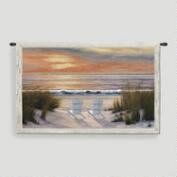 Paradise Sunset Tapestry Wall Hanging