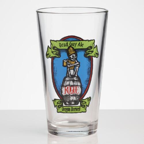 Famous Beer Pint Glasses, Sets of 4