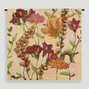Garden Blooms Tapestry Wall Hanging