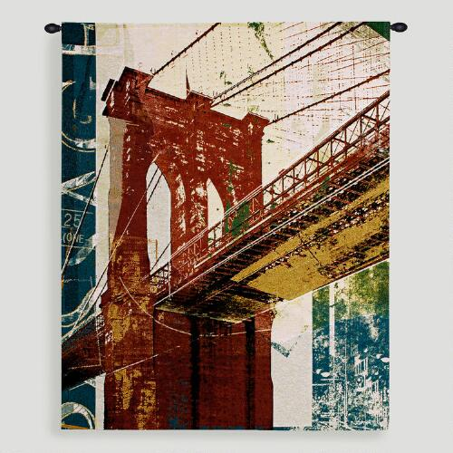 Into Manhattan ll Tapestry Wall Hanging