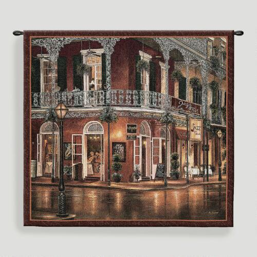 Jazz du Jour Tapestry Wall Hanging