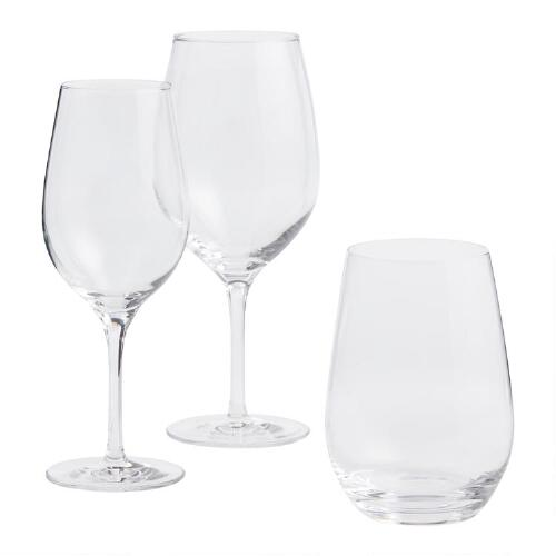Connoisseur Crystal Chardonnay Glasses Set of 4