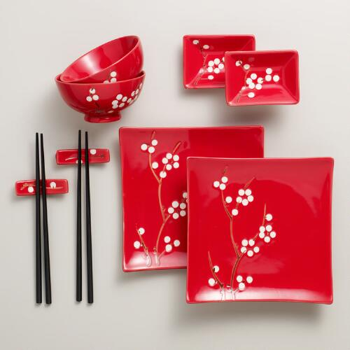 10-pc Blossom Sushi Set
