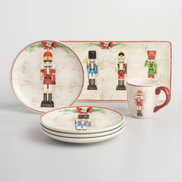 Nutcracker Ceramic Dinnerware