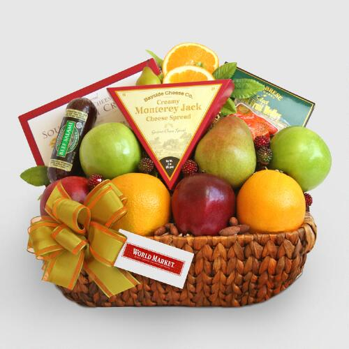 Harvest Centerpiece Gift Basket