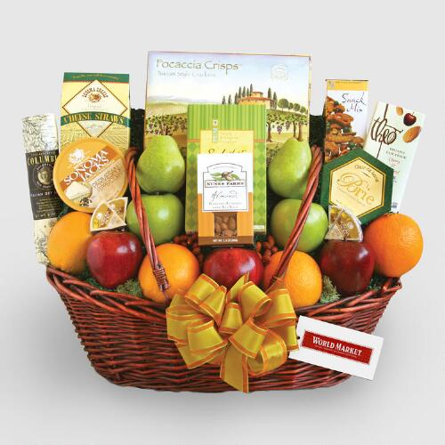 Healthy Good Wishes Gift Basket
