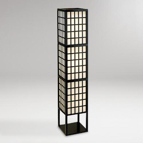 Window Pane Floor Lantern