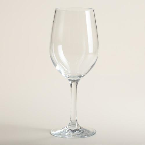 High-Impact Acrylic Stemware, Sets of 4