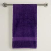 Mysterioso Purple Cotton Bath Towels
