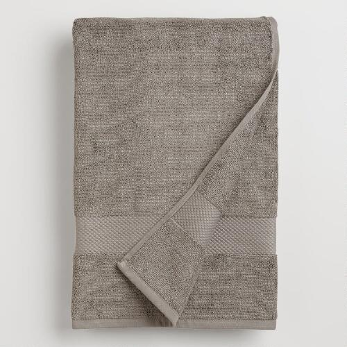 Frost Gray Bath Towel