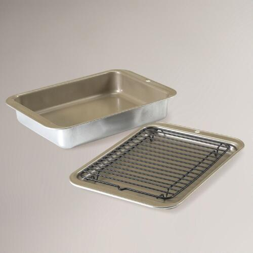 Compact Ovenware 3-pc. Grill & Bake Set