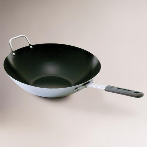 "Professional Cookware Asian Wok, 14"" Dia."