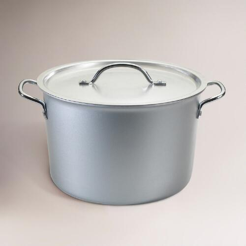 Professional Cookware Stock Pot with Lid, 8-Qt.
