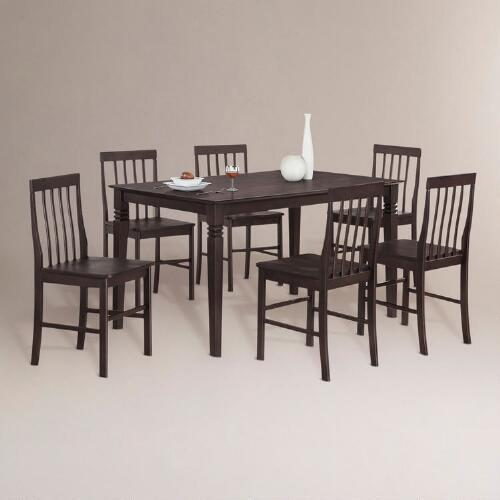 Espresso Franklin 7-pc Dining Set