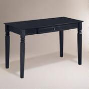 Black Wood Douglas Desk