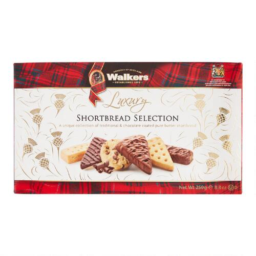 Walkers Luxury Shortbread Selectio