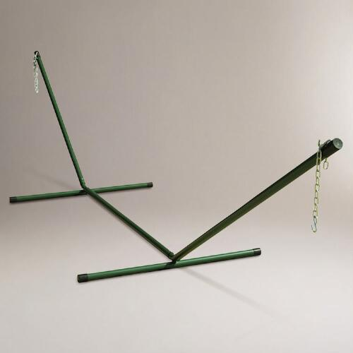 Hunter Green 2 Person Hammock Stand